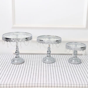 Silver Cake Stands for weddings